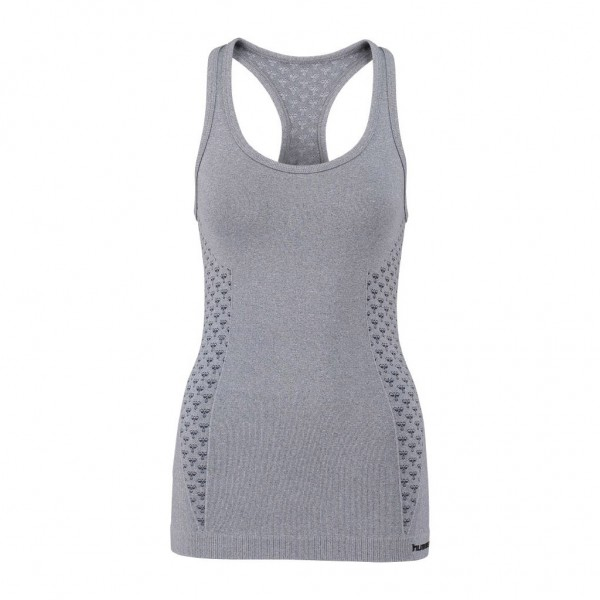 hummel Damen Classic Bee CI Seamless Top in ombre blue