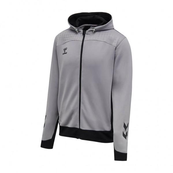 hummel-lead-zip-hoodie-grey