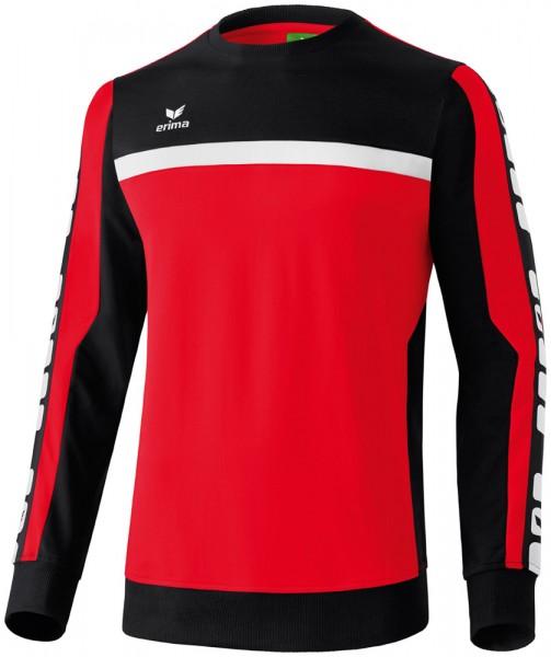 erima-5-cubes-sweatshirt-rot-schwarz
