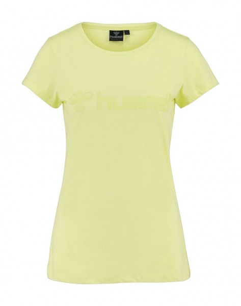 Das neue hummel Classic Bee Womens Tee in sunny lime