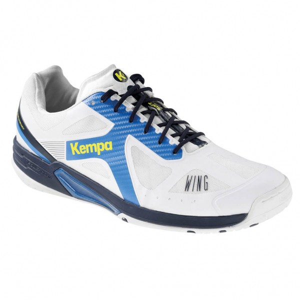Kempa Wing Lite Herren Handballschuhe in weiss/blau bestellen