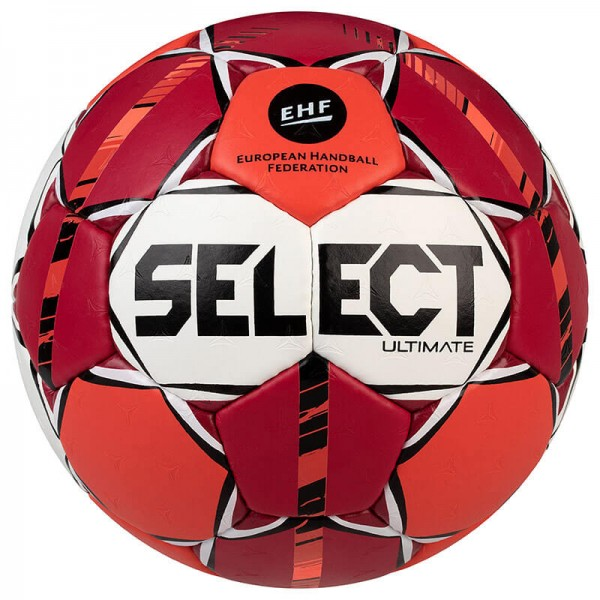 Der neue Select Ultimate Handball 20/21 in rot/orange