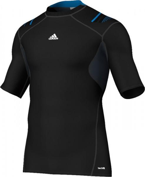 Adidas TECHFIT Powerweb S/S Tee - black