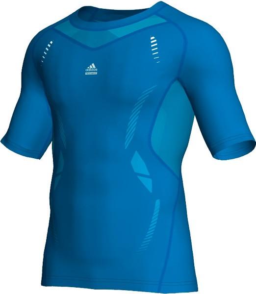 Adidas TECHFIT Preparation Tee - sharp blue