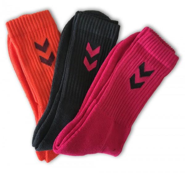 Hummel 3er Pack Basic SMU Socken - sangria