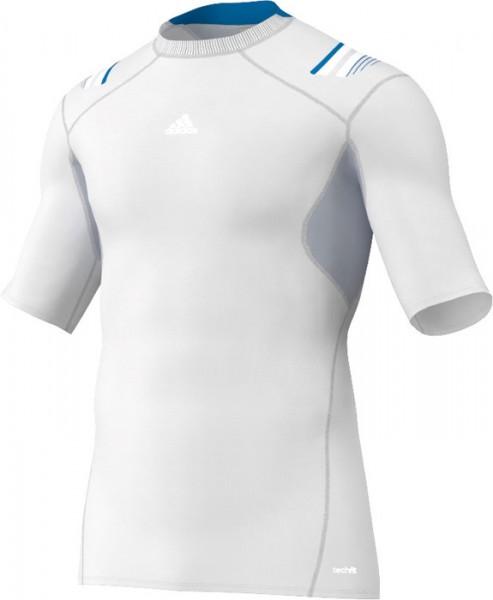 Adidas TECHFIT Powerweb S/S Tee - white
