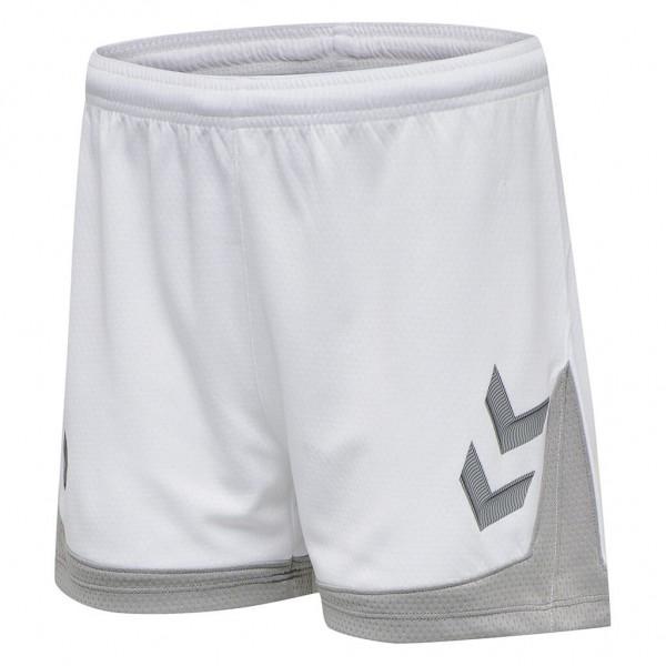 hummel-lead-damen-shorts-white