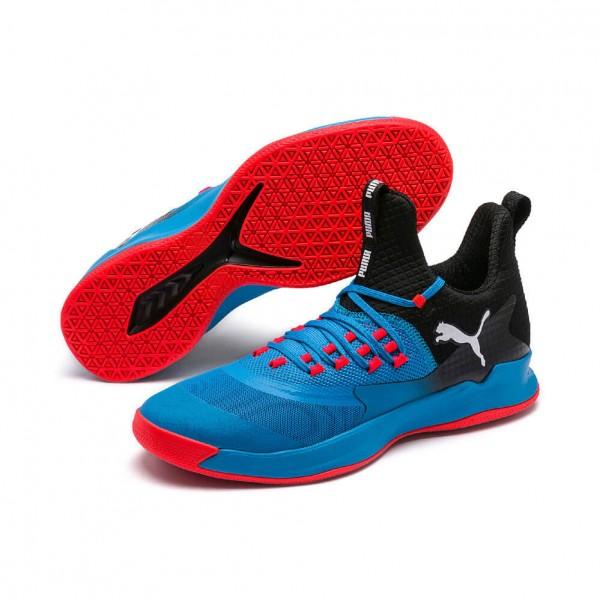 Puma Rise XT Fuse 2 Handballschuhe in blau-rot