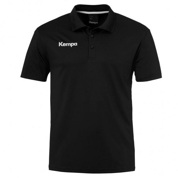 kempa-poly-polo-shirt-schwarz