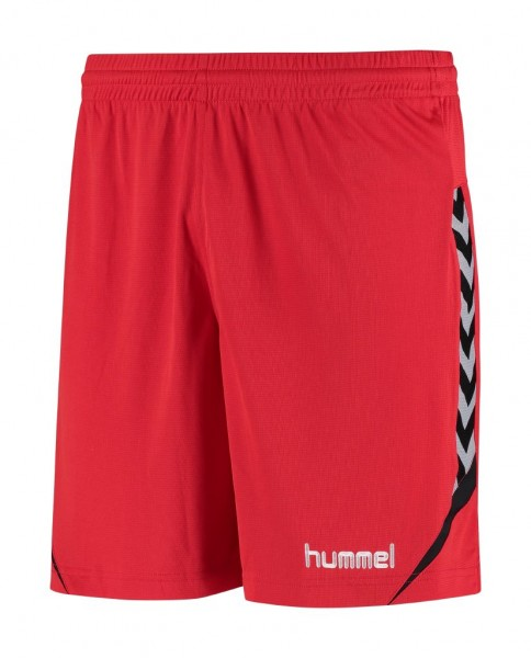 hummel-authentic-charge-shorts-rot