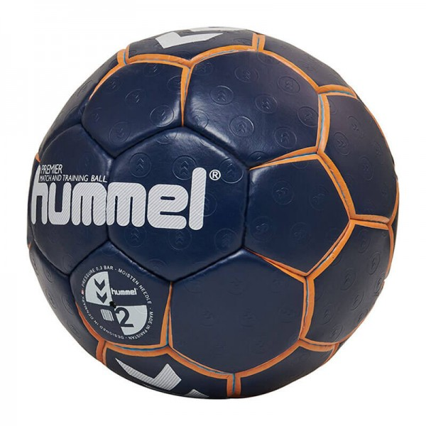 hummel Premier Handball in blau/orange