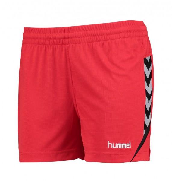 hummel-authentic-charge-damen-shorts-rot