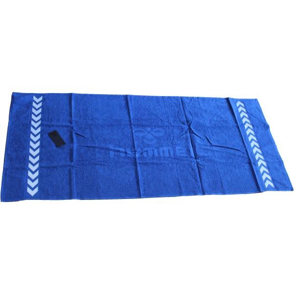 hummel Handtuch in 100x50 cm in blau