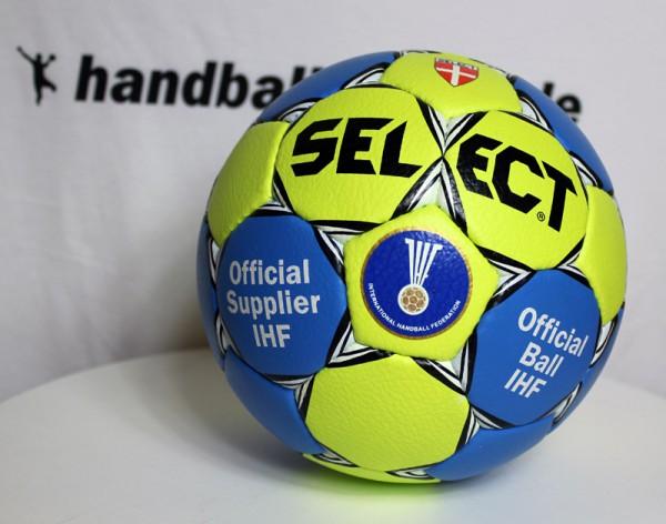 Select OLYMP G12 Handball - blue/yellow