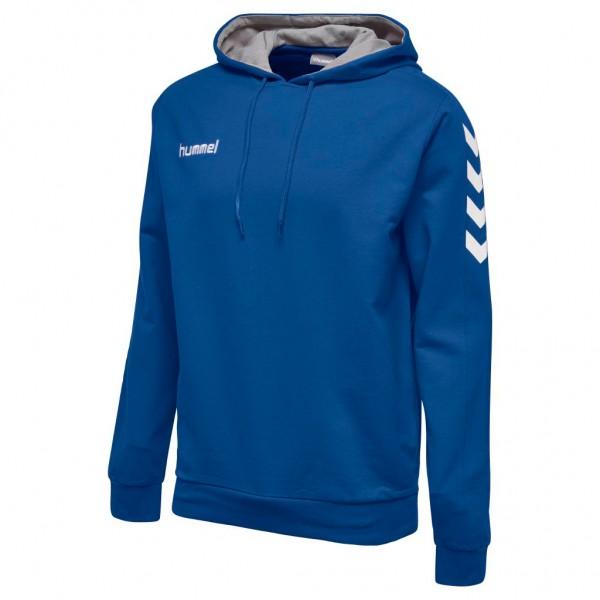 hummel-core-kapuzensweat-blau