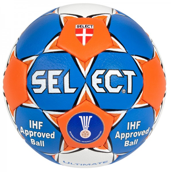 Select Ultimate Handball in blau orange