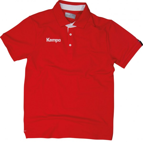 Kempa Statement Prime Polo in rot jetzt günstig kaufen