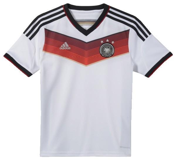 Adidas DFB Trikot Kids - weiss
