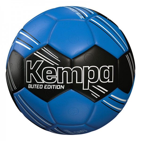 Kempa Buteo Edition Handball in blau/schwarz