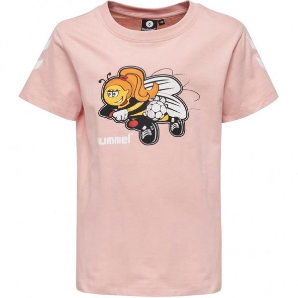 Das neue hummel Kevyneb T-Shirt für Mädchen in rosa