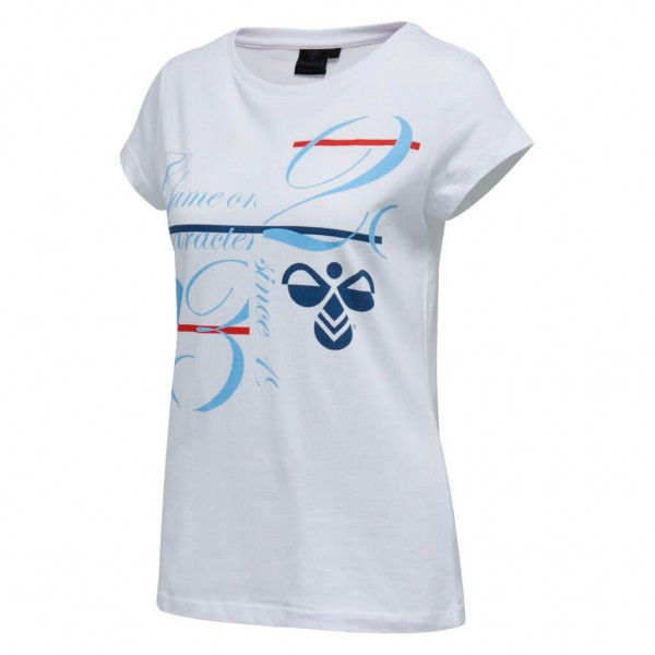 Das neue hummel Kirstine Damen T-Shirt in weiss