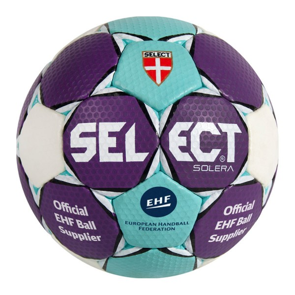 Der neue Select Handball Solera in türkis-lila jetzt lieferbar in allen Größen