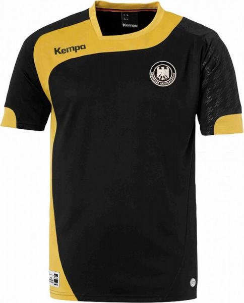 Kempa DHB Elite Olympia Trikot - schwarz gold