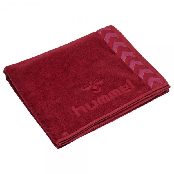 hummel Old School Handtuch klein - 100x50 cm - biking red