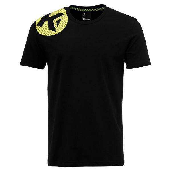 Das neue Kempa Caution T-Shirt 2018 für Herren in schwarz