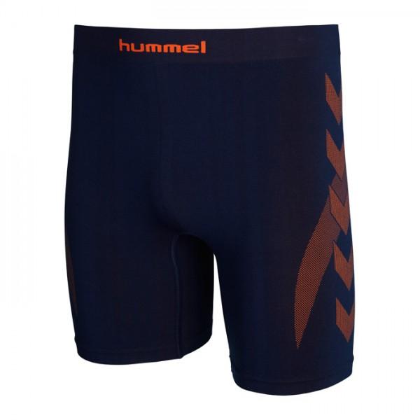 Hummel Funktionsunterhose - dark denim/shocking orange