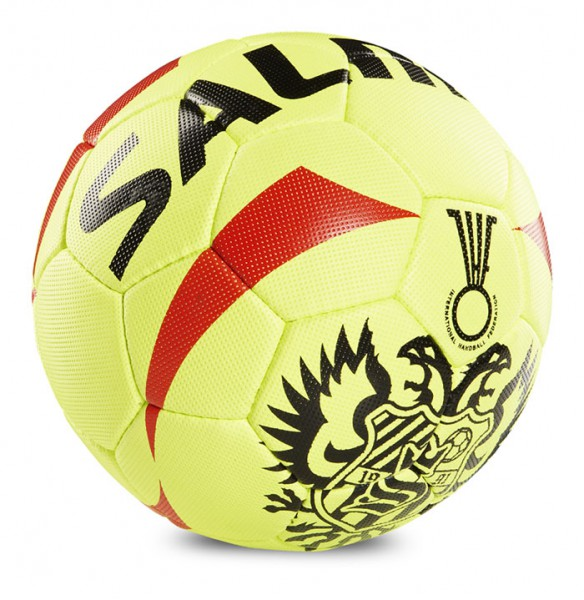 Salming Inferno Handball - fluo yellow/red