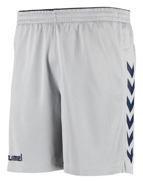 Die neue hummel Kinetic Shorts in grau-navy günstig bestellen
