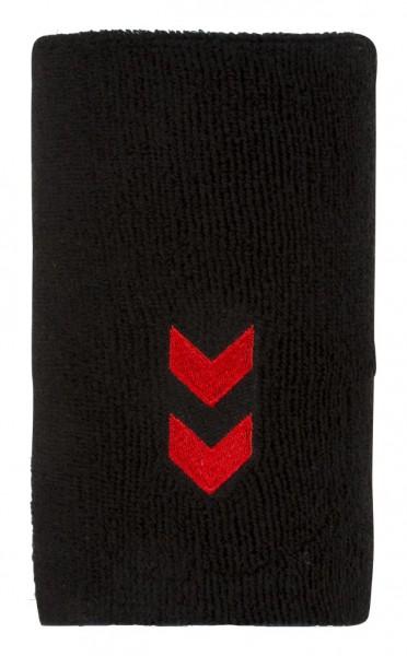 hummel Fire Night Schweißband XL in schwarz-rot