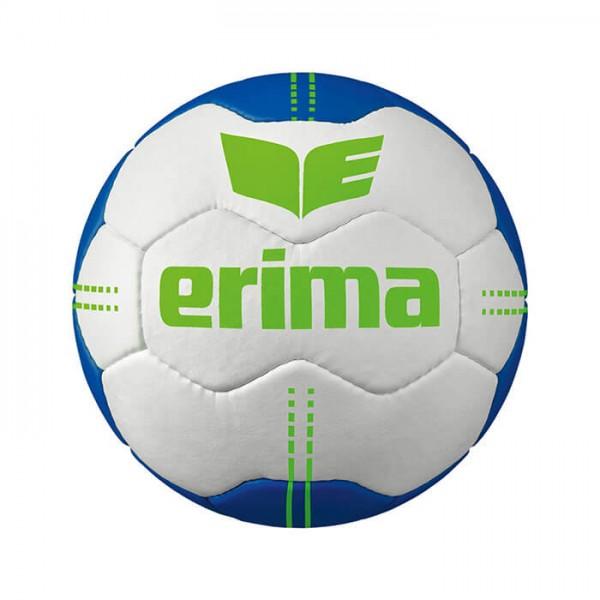 Der neue Erima Pure Grip Handball No. 1 in weiss-blau