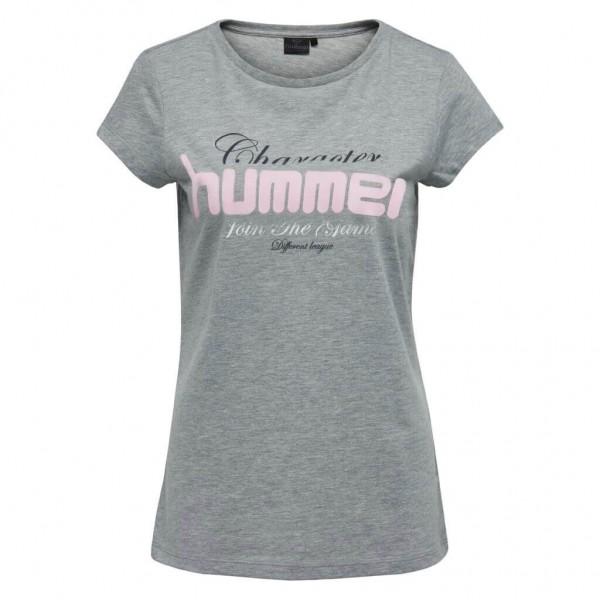 Das neue hummel Sofia T-Shirt für Damen in grey