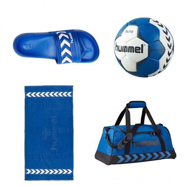 hummel Trainings Set blau